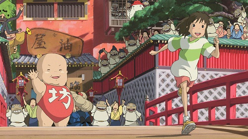 Spirited Away Spirits and Chihiro