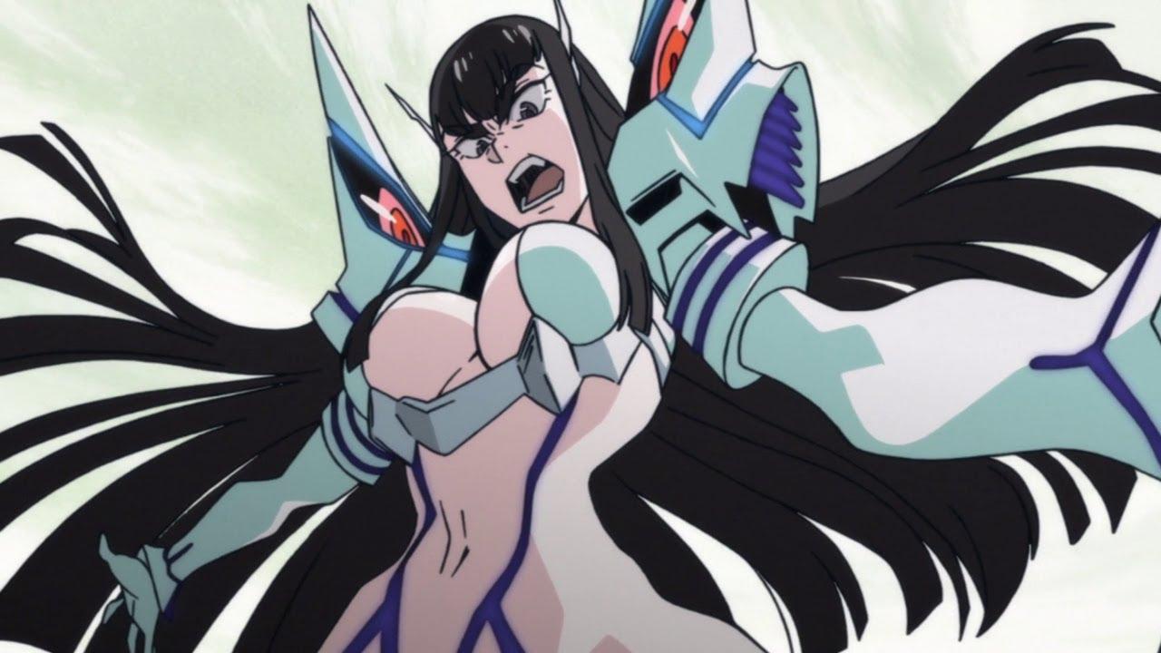 Kill La Kill Junketsu and Satsuki Angry