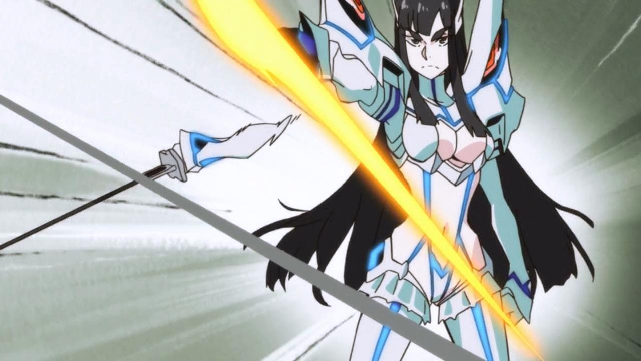 Kill La Kill Junketsu and Satsuki Bland
