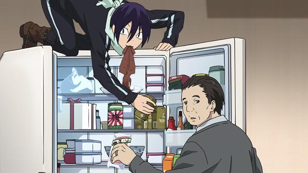Funny Moments Noragami Yato Hiyori fridge