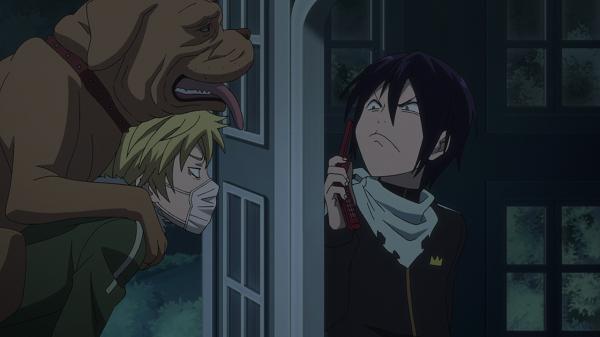 Funny Moments Noragami Yato Yukine dog