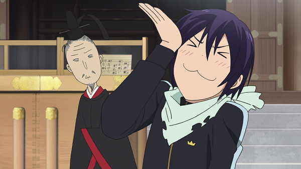 Funny Moments Noragami Yato Tenjin boasting