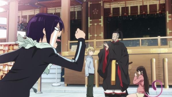 Funny Moments Noragami Hiyori Tenjin Yato god
