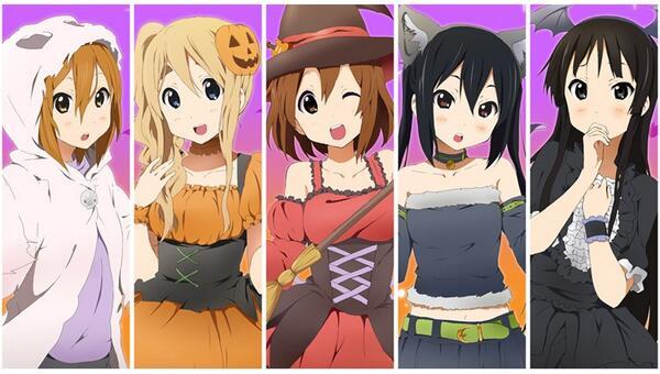K-on! Halloween