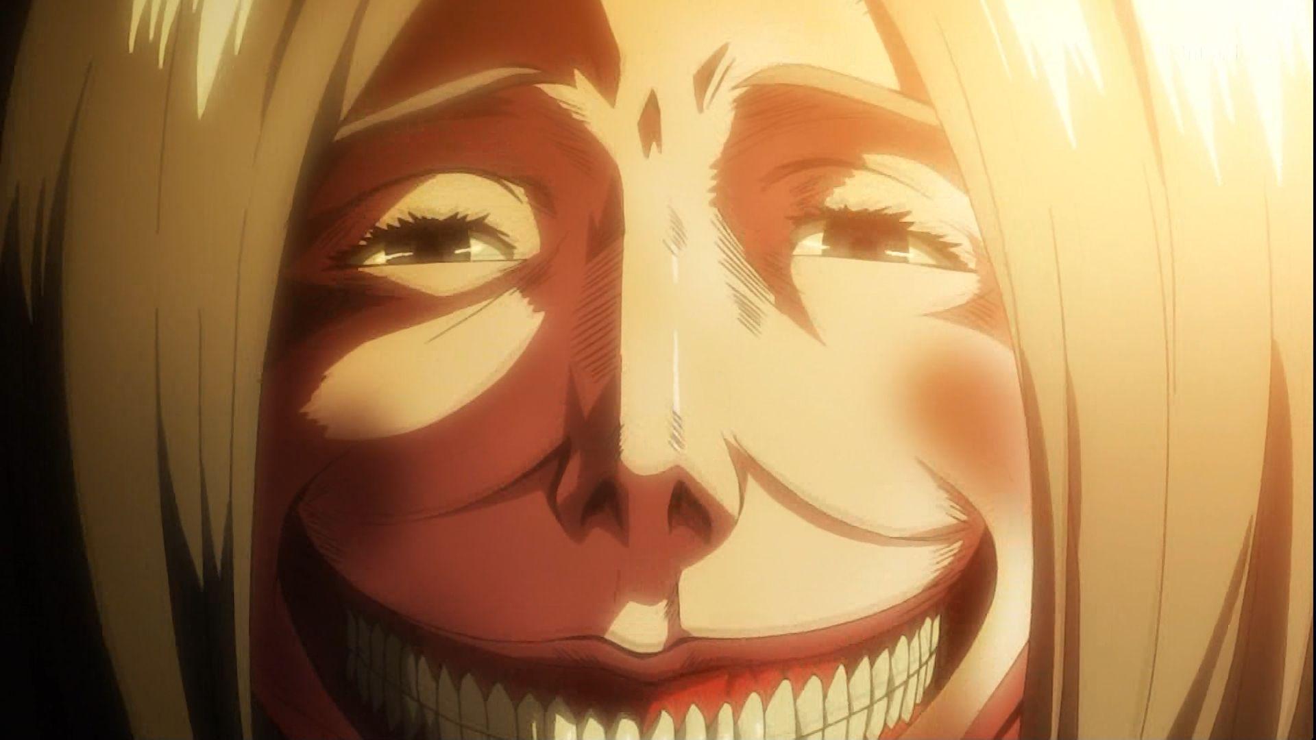 Shingeki no Kyojin Smiling titan