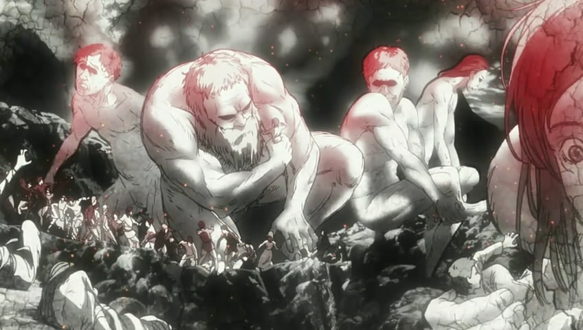 Shingeki no Kyojin Titan buffet