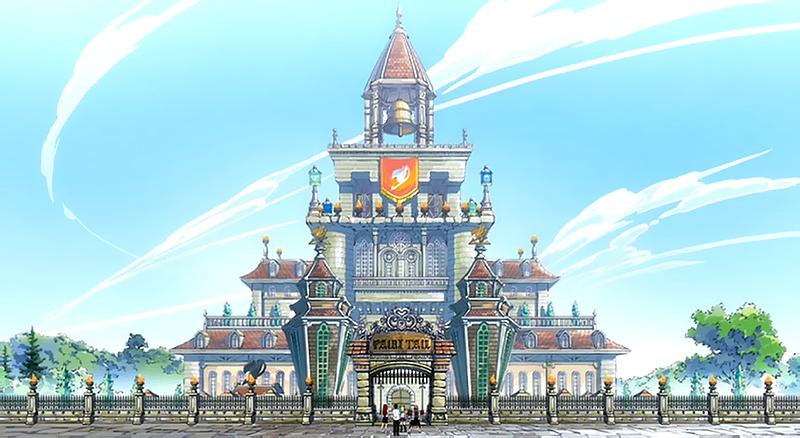 Fairy Tail's Massive Guild Hall