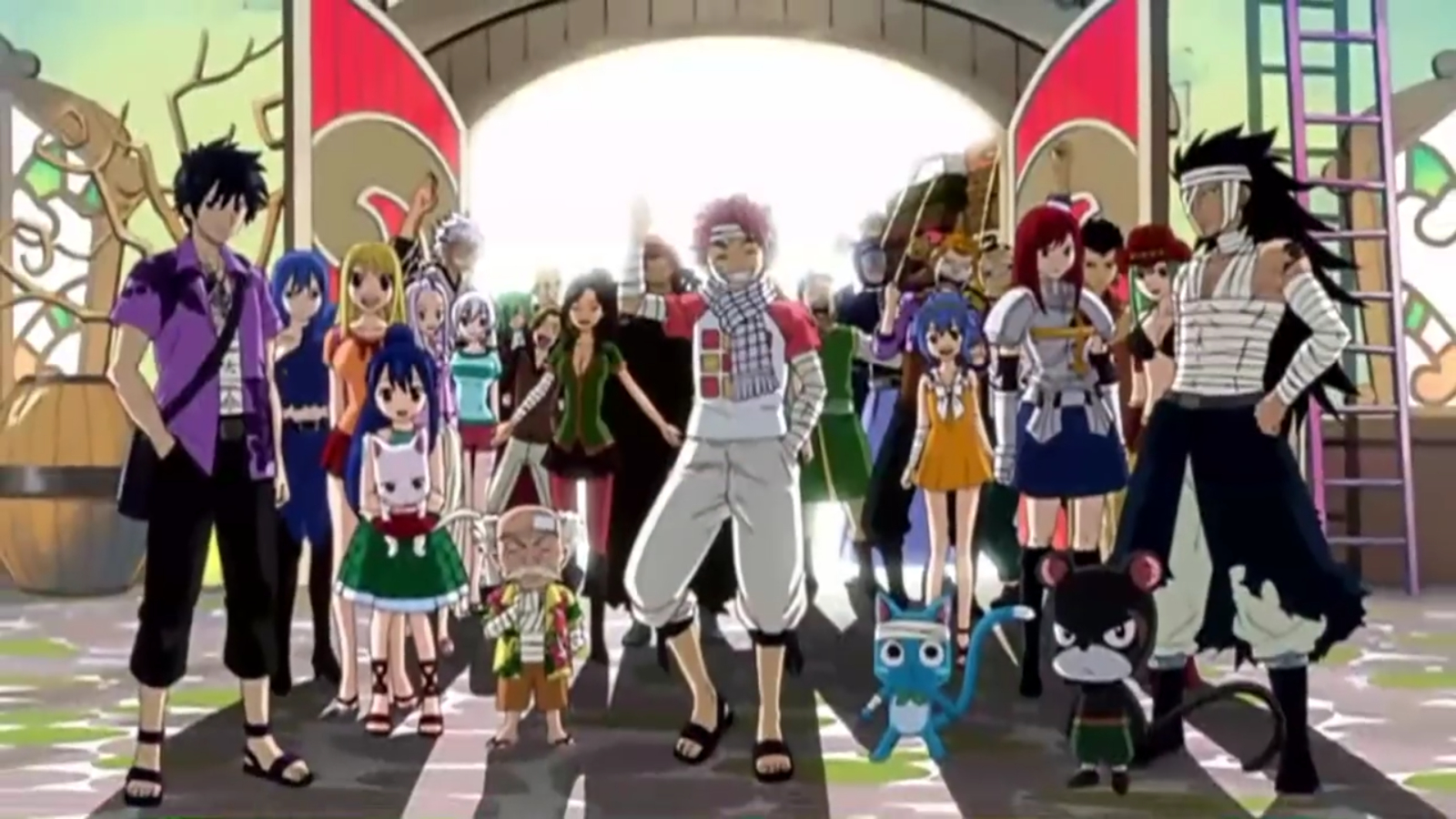 Fairy Tail The Fairy Tail Guild