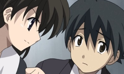 School Days, Makoto Itou and Saionji Sekai