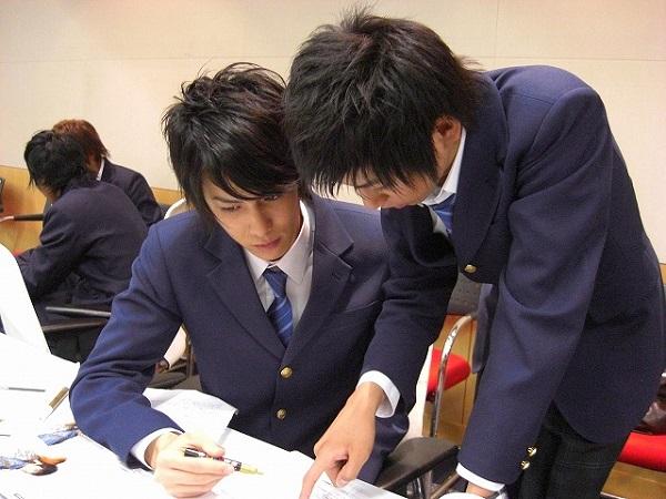 Senpai Kouhai Higschool Students 2