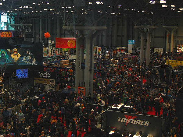 Crowds at NYCC New York Comic Con 2015
