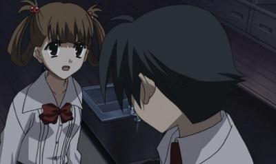 School Days, Hikari Kuroda and Makoto Itou