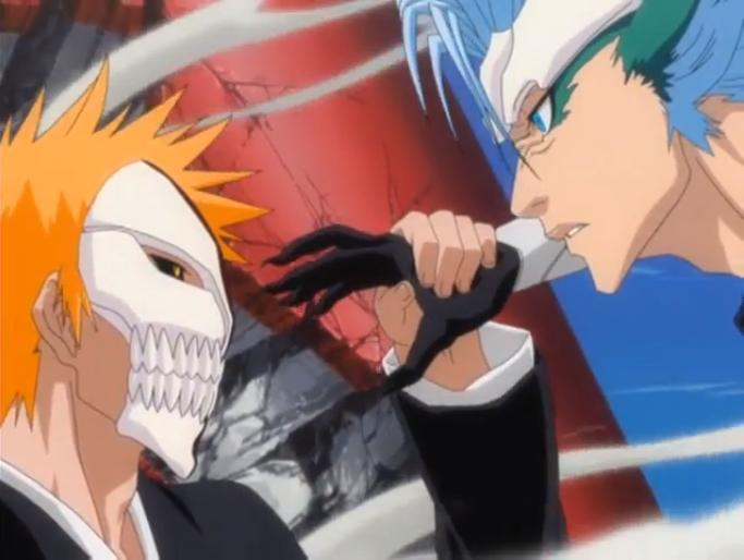 Bleach Ichigo Kurosaki & Grimmjow Jaegerjaquez