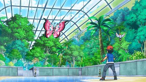 Pokemon XY_Satoshi & Viola Gym Battle