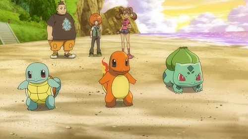 Pokemon XY_Tierno, Trova, Sana Triple Battle