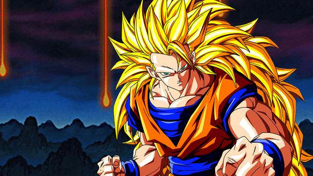 Goku crazy anime hairstyle Dragon Ball