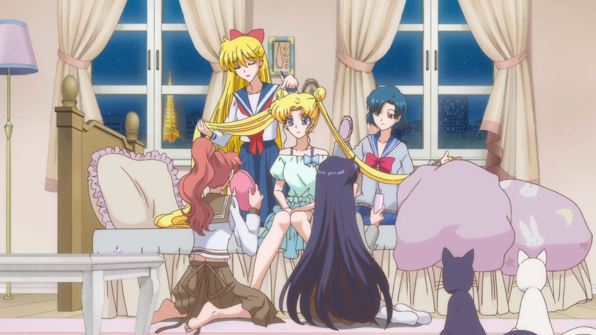 Sailor Moon Crystal - with_her_friends