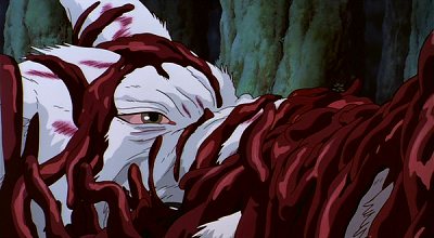 Thoughtful Quotes Mononoke Hime Moro Forest God