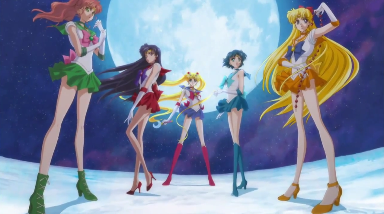 Sailor Moon Crystal - scouts