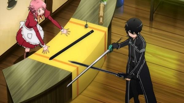 Elucidator Weapon Sword Art Online Kirito