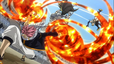 Fairy Tail Dragon Slayer Natsu