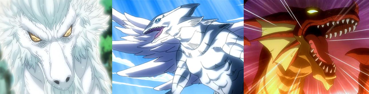 Fairy Tail Dragon Slayer Dragons