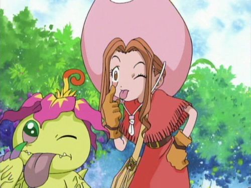 Digimon Adventure_Mimi Tachikawa, Palmon