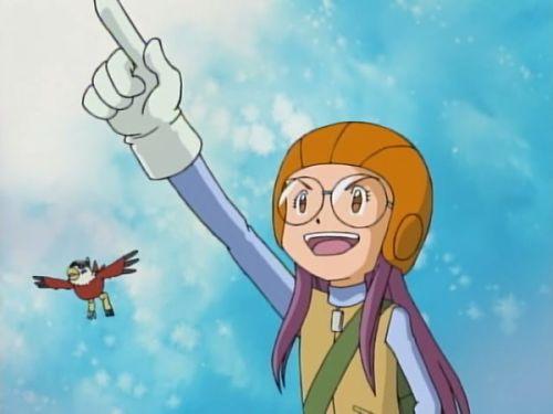 Digimon Adventure 02_Inoue Miyako, Hawkmon
