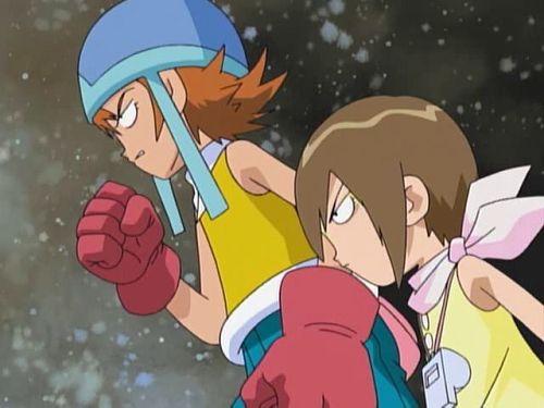 Digimon Adventure_Sora Takenouchi, Hikari Yagami