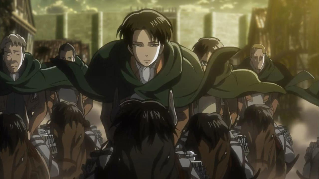 Shingeki No Kyojin Joining The Survey Corps Myanimelist Net
