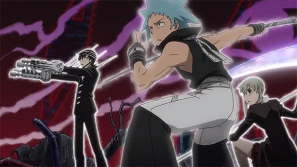 Soul Eater Maka Death the Kid Black Star Asura