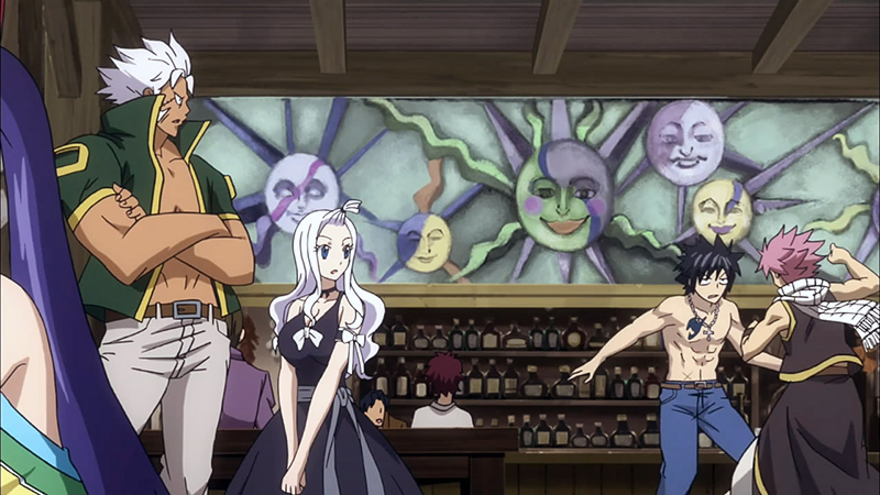 Fights Inside Fairy Tail are Totally Normal