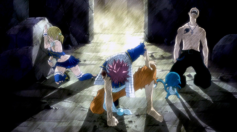 Doesn't matter how hard the fight is- Fairy Tail Mages Never Back Down