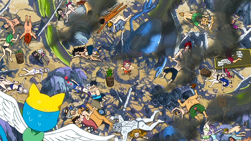 A Fairly Average Aftermath of a Huge Fairy Tail Battle