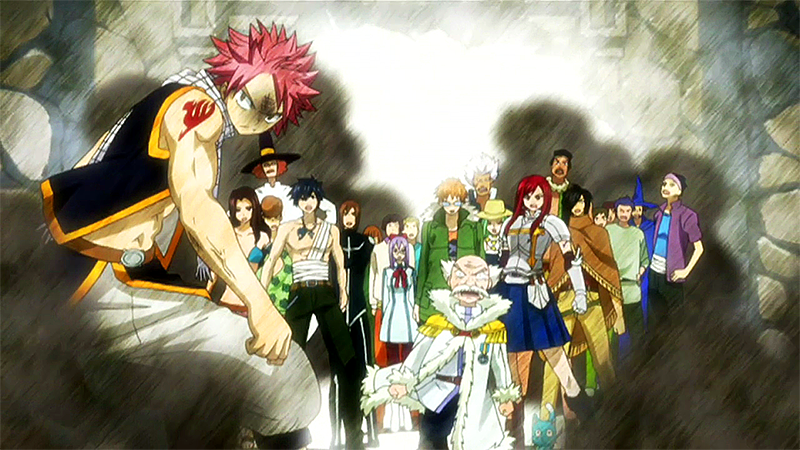 Fairy Tail Gives it Everything They've Got