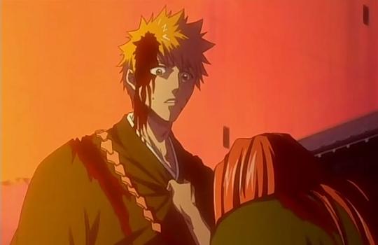 Renji begs Ichigo Bleach