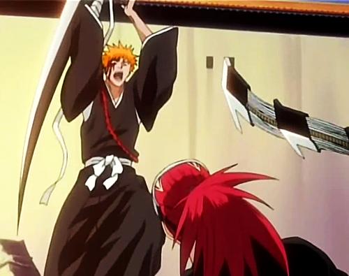 Ichigo vs Renji Rematch Bleach