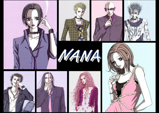 Nana, Nana Osaki, Nana Komatsu, Black Stones, Trapnest