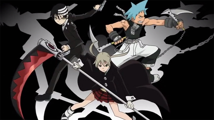 Soul Eater Maka Black☆Star Kid