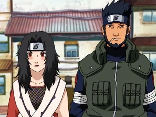 Naruto Kurenai Yuhi and Asuma Sarutobi