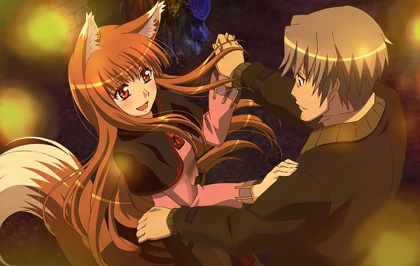 Happy Anime Spice and Wolf