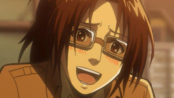 Shingeki no Kyojin Hange Zoë Cute