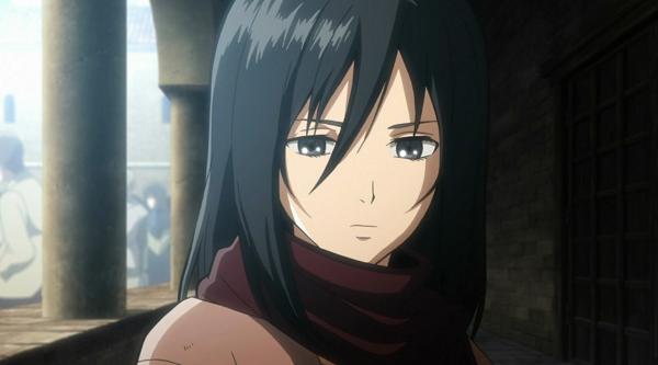Shingeki no Kyojin Mikasa Ackerman Cute