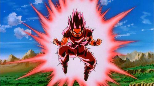 Dragon Ball Z Goku Kaio Ken