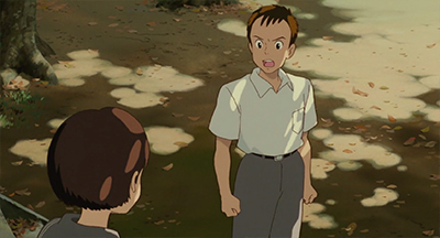 Mimi wo Sumaseba Whisper of the Heart Sugimura