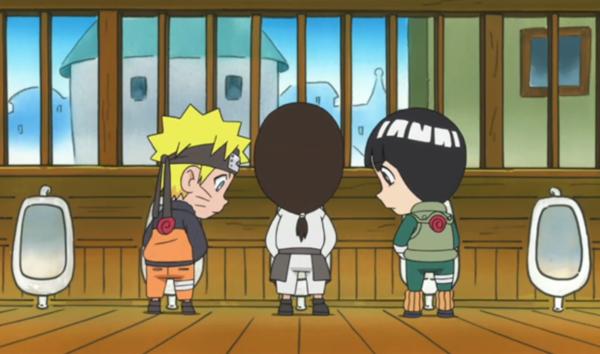 Naruto, Uzumaki Naruto and Rock Lee
