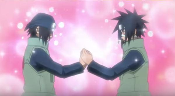 Naruto, Kamizuki Izumo and Hagane Kotetsu