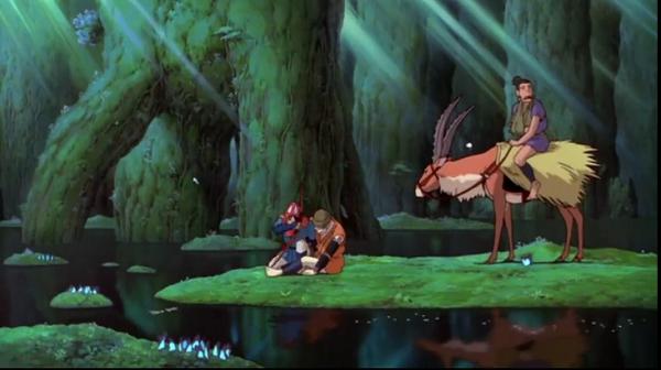 Princess Mononoke nature