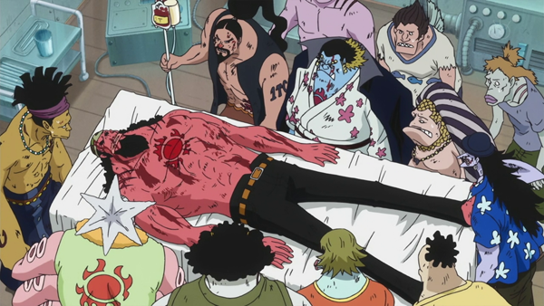 Tiger Fisher & his crew - One Piece sad moments