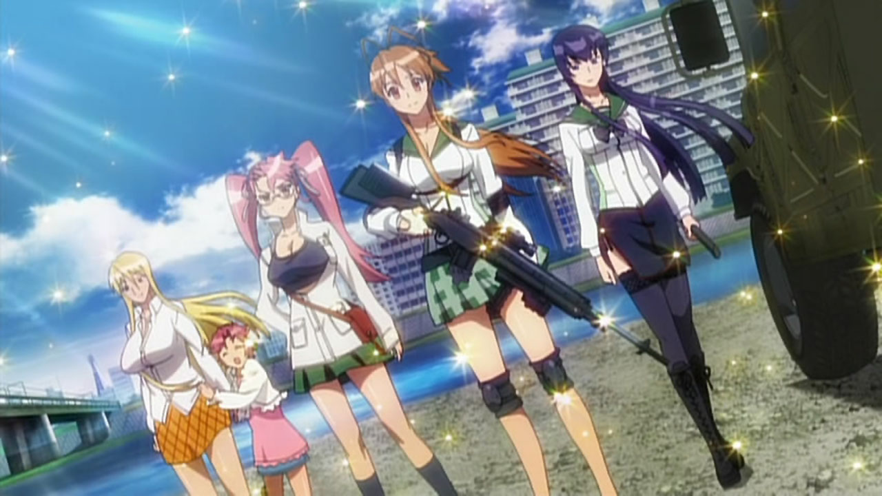 Highschool of the Dead: Fujimi Survivors, Girls